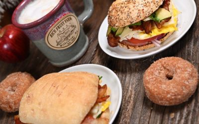 Rice Fruit Farm Breakfast Sandwiches Doughnuts And Craft Coffee