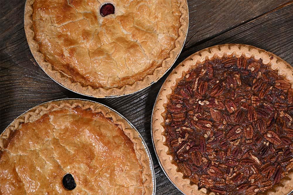 Rice Fruit Farm homemade fresh baked pies in Wilbraham Massachusetts